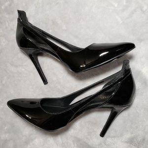 Michael Kors Cercei Leather Pump Stiletto Heels